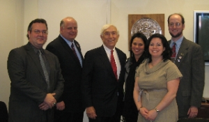 AIA-NJ ExComm meets with Senator Lautenberg.