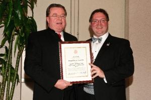 Robert Barranger, AIA and President Jason Kliwinski, AIA