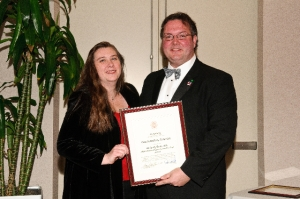 Kimberly Bunn, AIA and President Jason Kliwinski, AIA