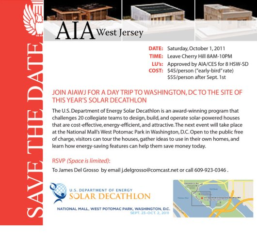 AIA-WJ 2011 Trip to Solar Decathlon