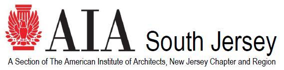 AIA South Jersey Logo 2012