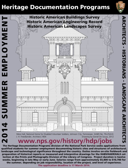 2014 Summer Hiring Poster