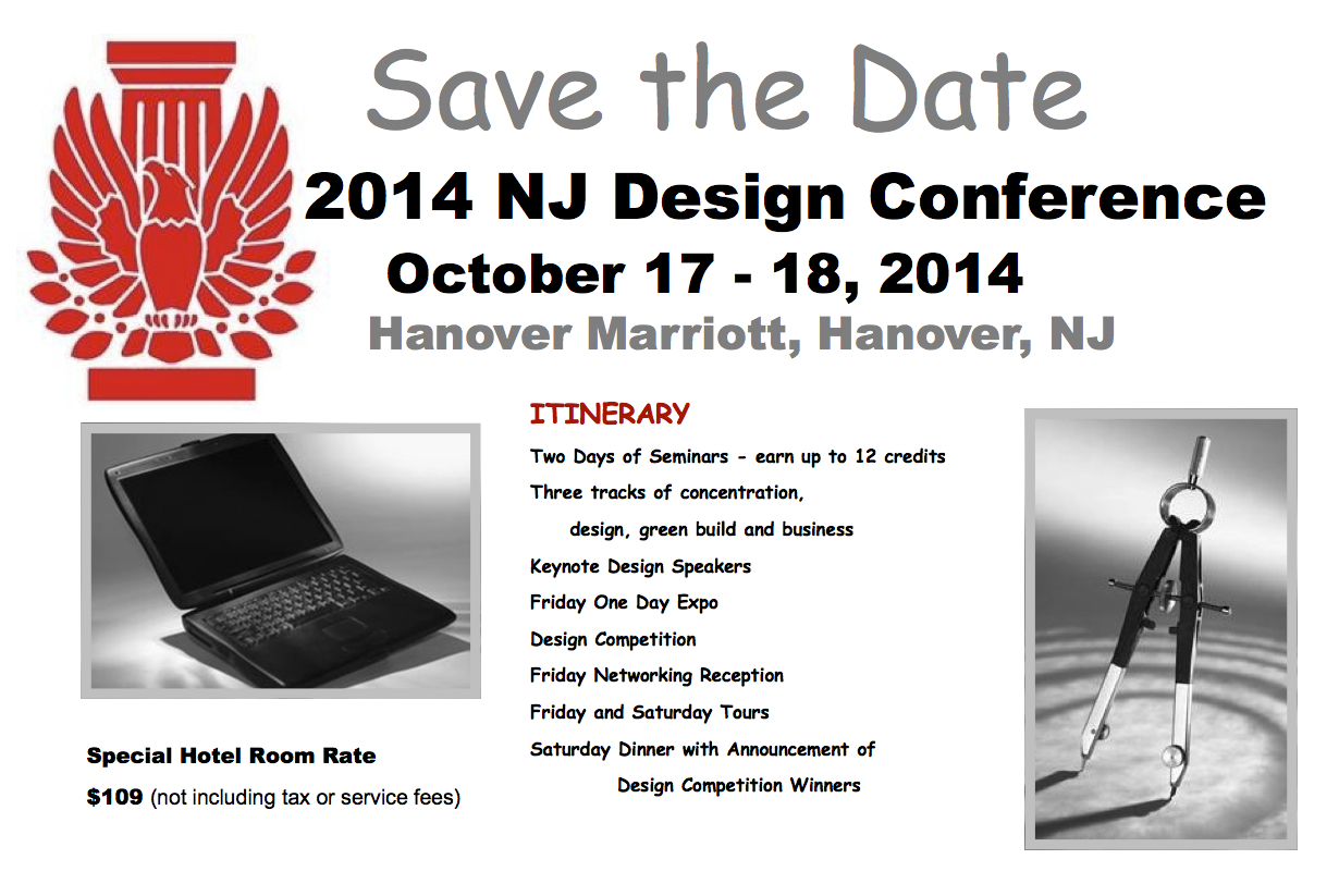 Design Conference 2014 Save the Date