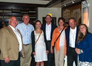 Andersen representatives with AIA-NJ leadership during the event.