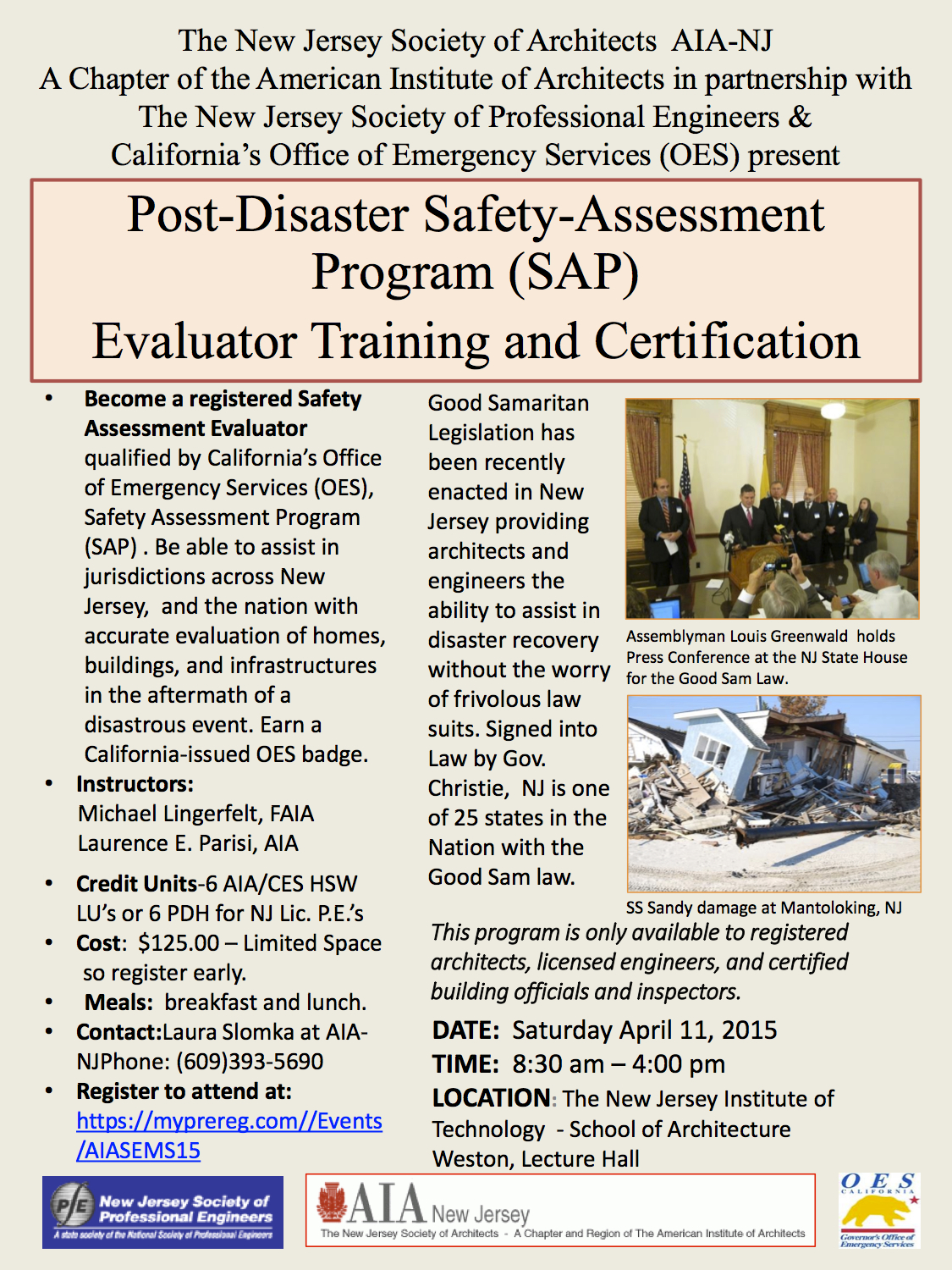 2015 Disaster Training Promo II with background color