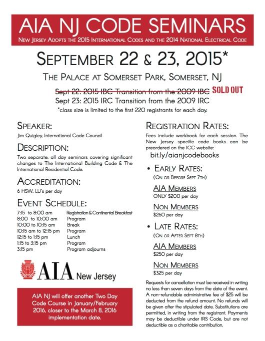 AIA 2015 Code Seminar Invite 3.2