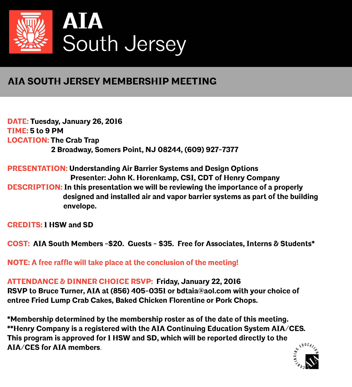 AIA SJ Jan 26 2016 invitation